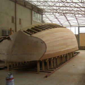 как самому построить яхту